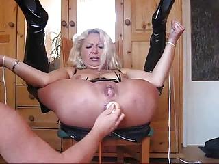 granny lady really uneasy  bondage