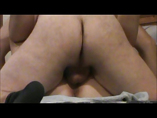 banging my woman with cum