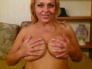 spurting cougar lady with huge breast