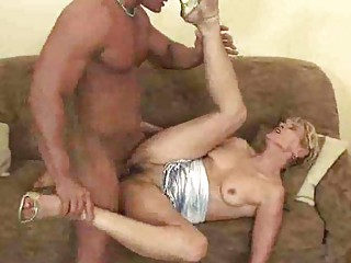grownup old gives a fellatio and is gangbanged