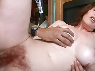 busty mature babe likes difficult cock deep