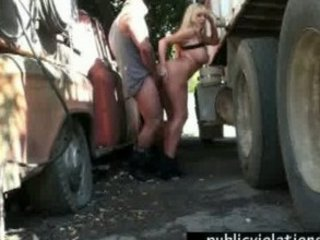truck stop gangbanging lady