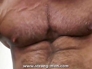 mature bodybuilders piercing