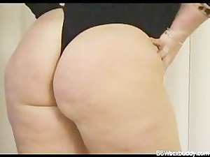 naughty bbw had a large bottom