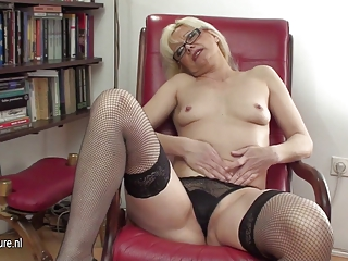 awesome mature babe librarian and her granny whore