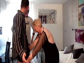 french elderly colombe twin gangbanged