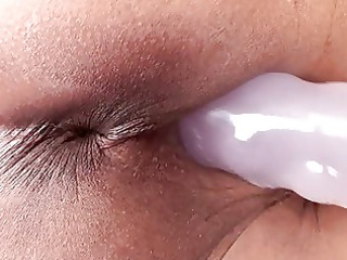 ethnic lady with little bossom pleases