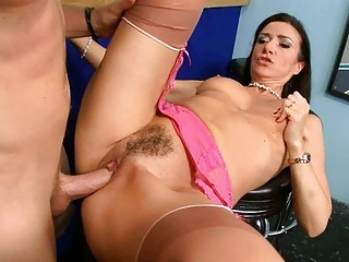 awesome grownup chick gives shocking head