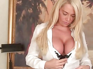 super boobed woman chick teasing in hot lingerie