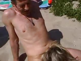 fucking inexperienced housewife on the shore