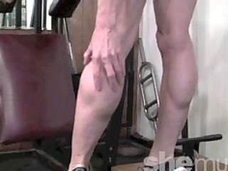 cougar muscle into the gym