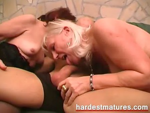matures with a busty younger stud