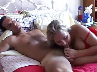 naughty grownup young gives a awesome fellatio