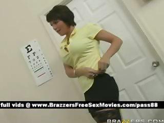 mature naughty brunette nurse